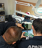 Service of marine electronics